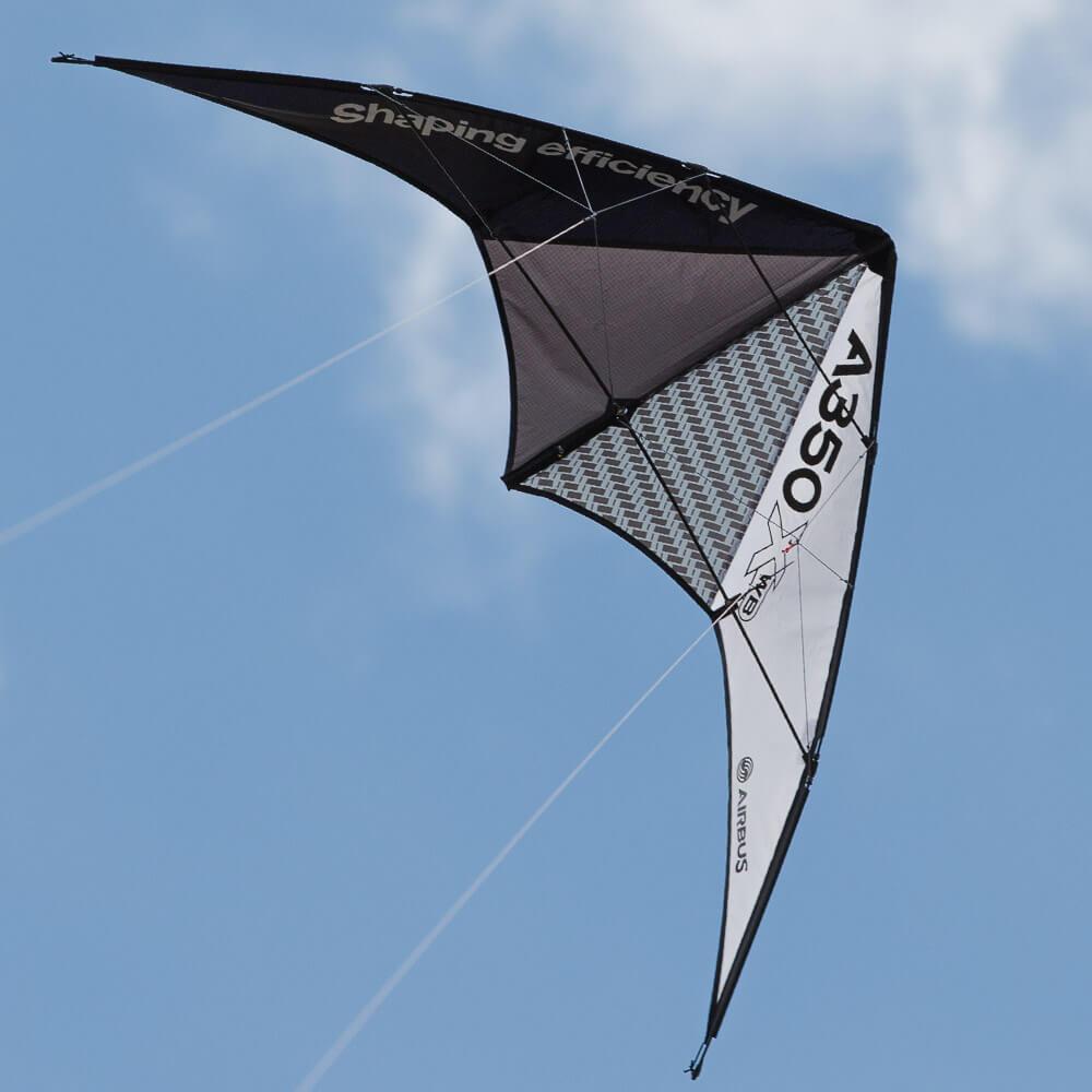 Werbedrachen Sportkite Airbus