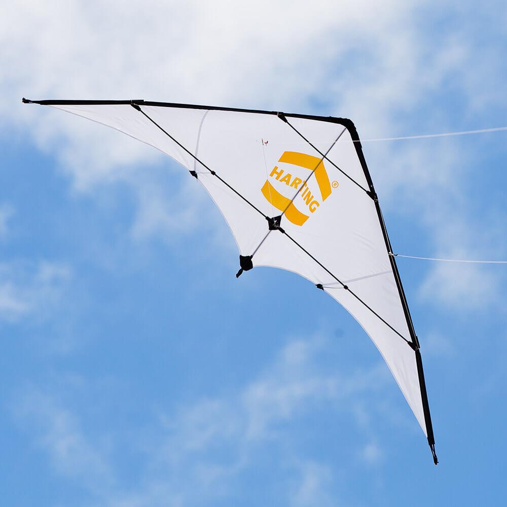 Werbedrachen Sportkite Harting